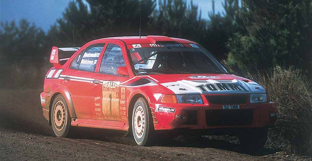 Mitsubishi Lancer Driven By Tommi Makinen
